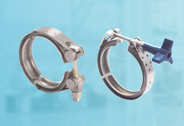 V Band Coupling Clamps